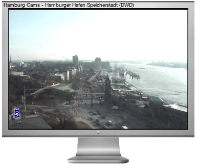 Hamburg WebCams Dashboard